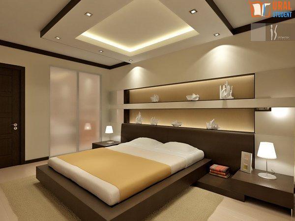 Спальня без окна маленькая фото 11