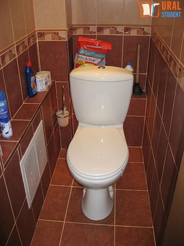 Туалет своими руками в квартире