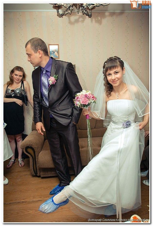 Свидетель засадил в невесту 24 фотография