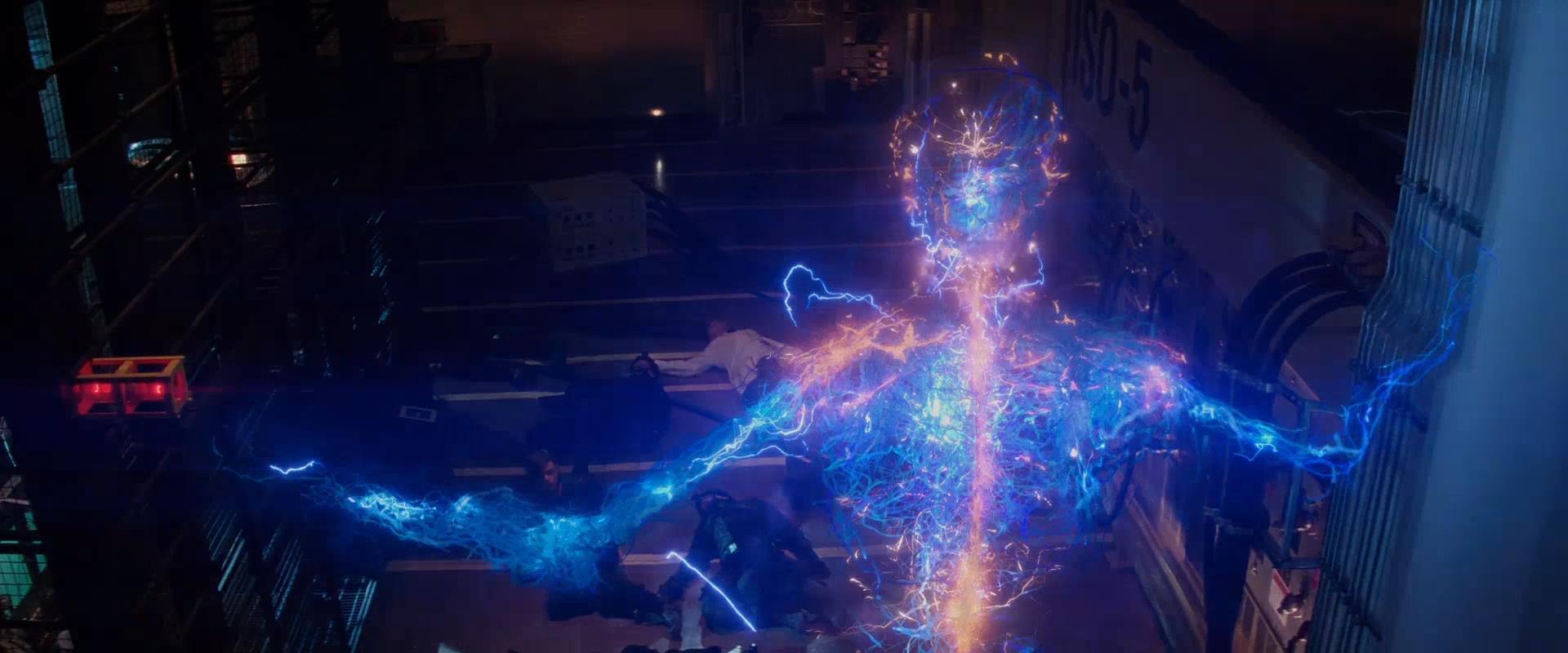 Электро из человека паука