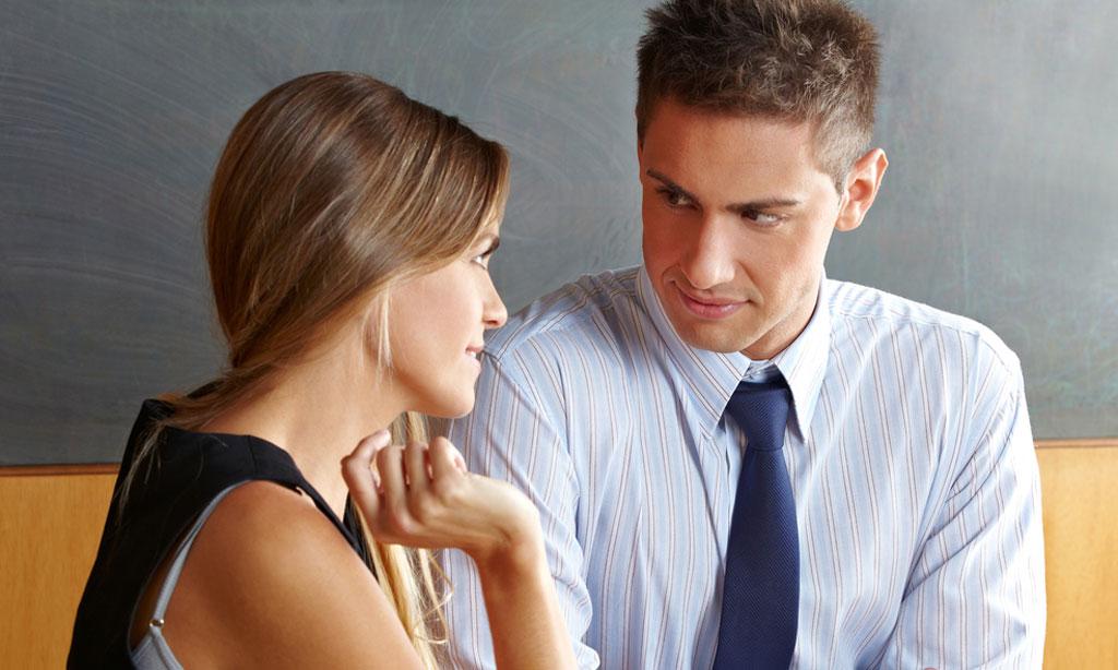 Почему бывший муж не смотрит в глаза при встрече