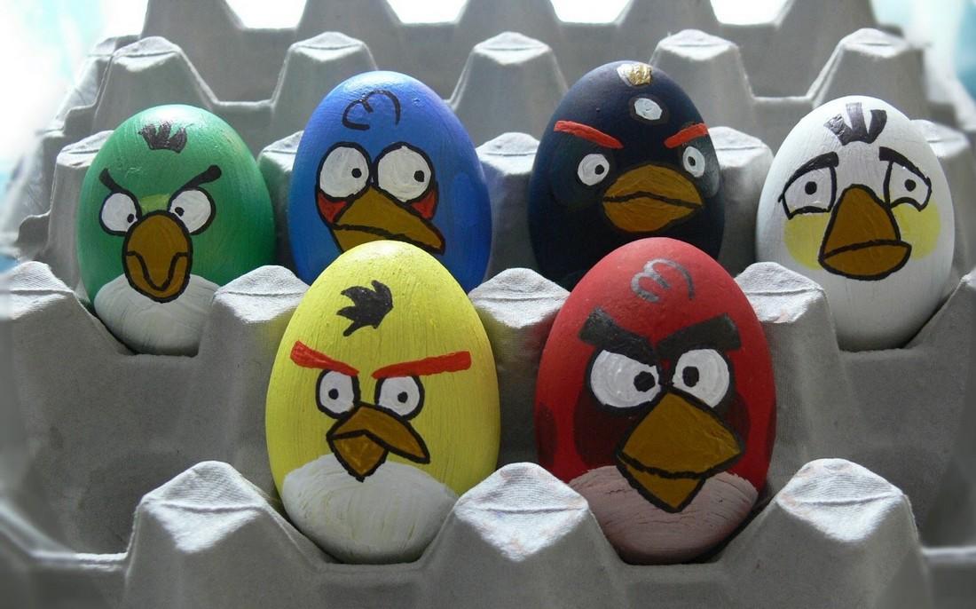 Как сделать птицу из яйца