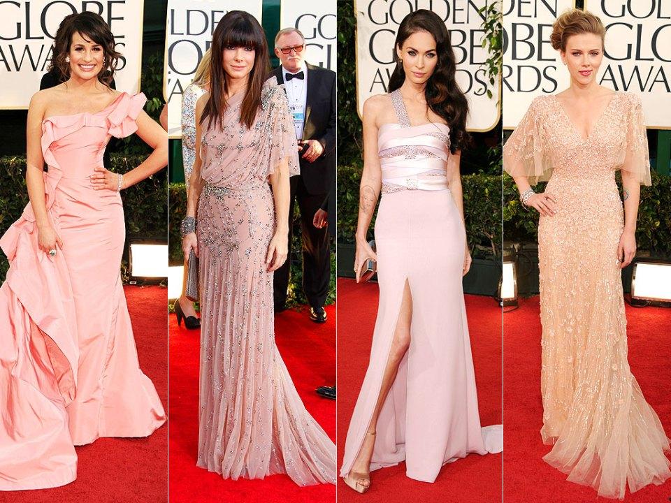 Розовое пастельное платье с чем носить