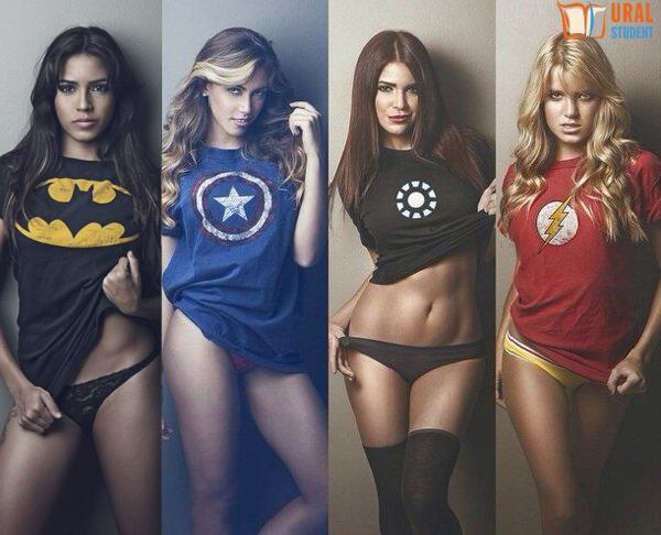 Сексуальные супер геройши