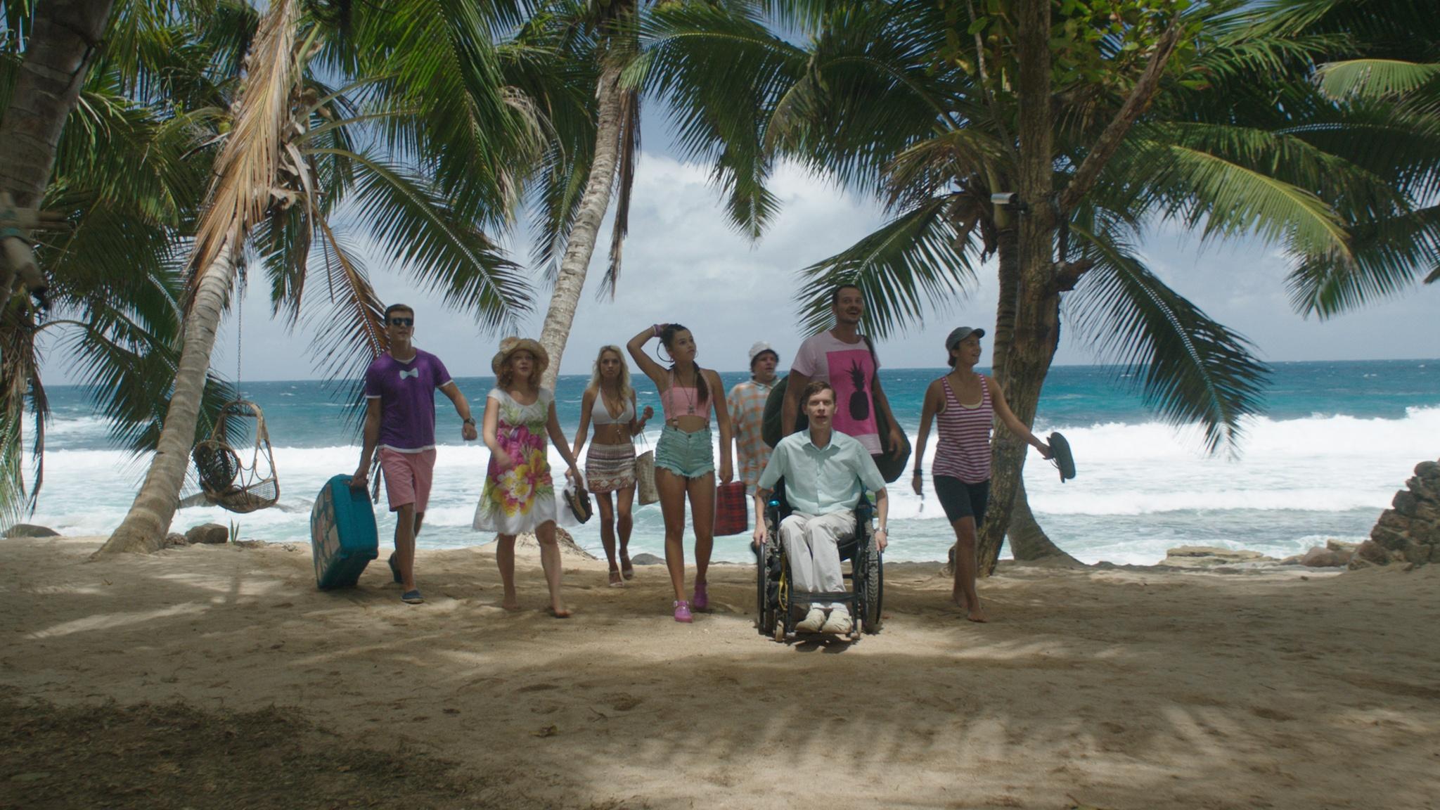 Четыре девушки на острове 8 фотография